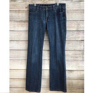 Gap Jeans Boot Cut Low Rise Stretch
